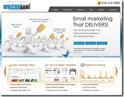 WHICHABAM Email Marketing