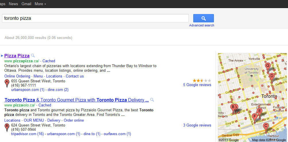 Getting Google Places Reviews - TechWyse 'Rise to the Top' Blog