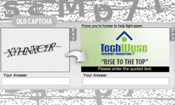 Turning Captchas Into a Branding Tool