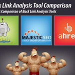 Comparing SEOmoz, MajesticSEO & Ahrefs Link Tools!