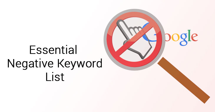 Negative Keywords for Google Ads Campaigns