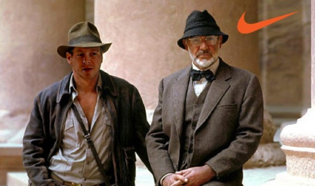 Indiana Jones Nike Photoshop