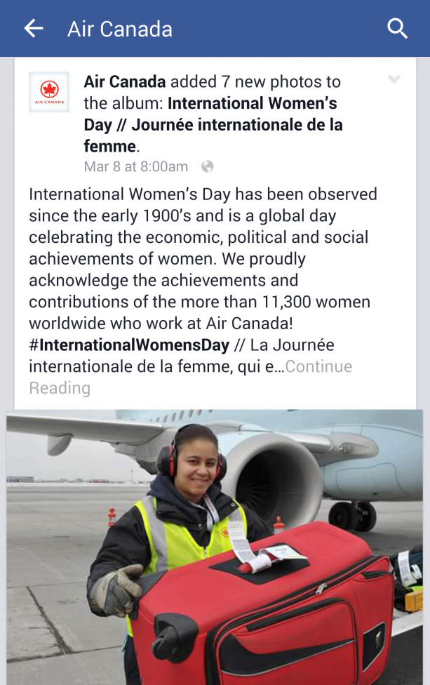 Air Canada Continue Reading