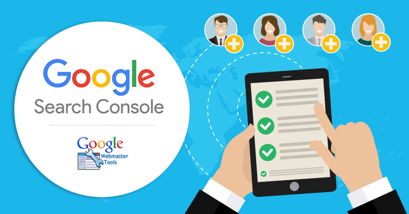 How To Add A User In Google Webmaster Tools / Search Console