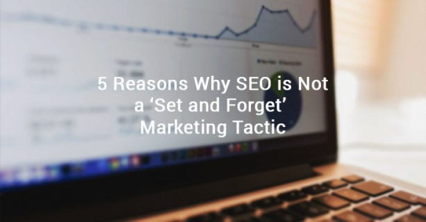 SEO set and forget tactic