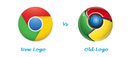 Chrome Logo Then And Now
