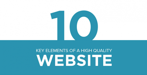 elements of a website