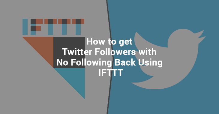 IFTT TWITTER FOLLOWERS