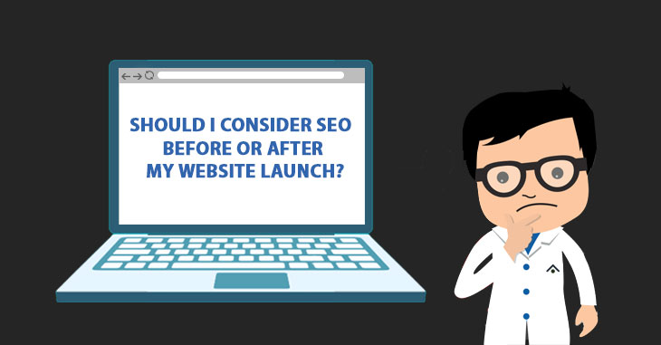 Right time to do SEO for a website