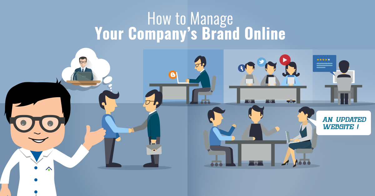 How To Manage Your Company's Brand Online