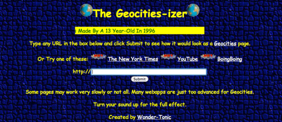 GeoCities 1994-1999
