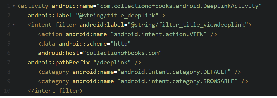 Deep Linking In Android