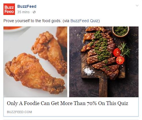 Quizzes On BuzzFeed
