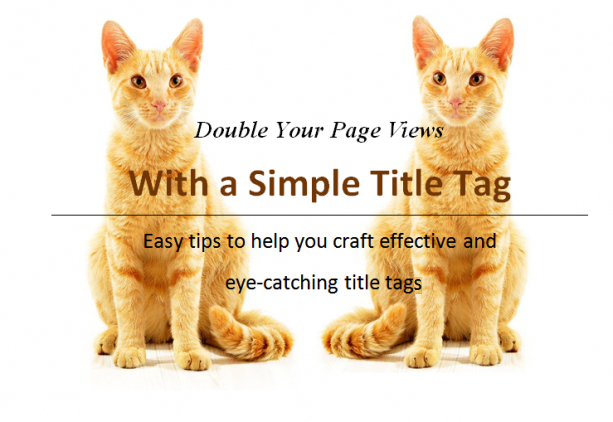 tips to craft better title tags and increase traffic
