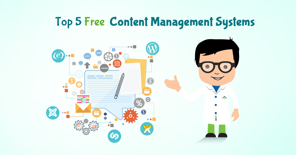 Top 5 Free Content Management Systems