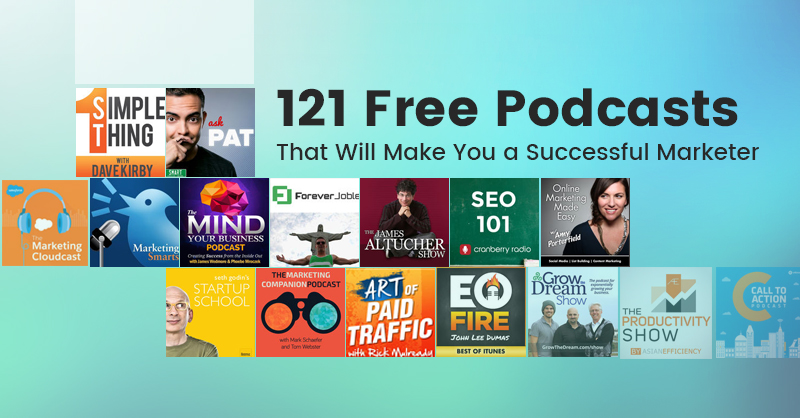 free marketing podcasts