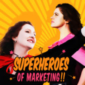 Superheroes of Marketing podcast