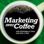 Marketing over cofffee Marketing podcasts