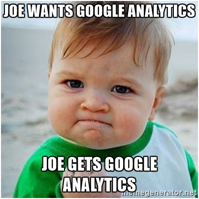 Be a Google Analytics Expert