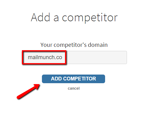 add a competitor-mailmunch