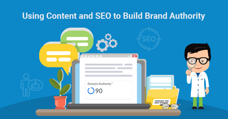 Content and SEO for brand authority