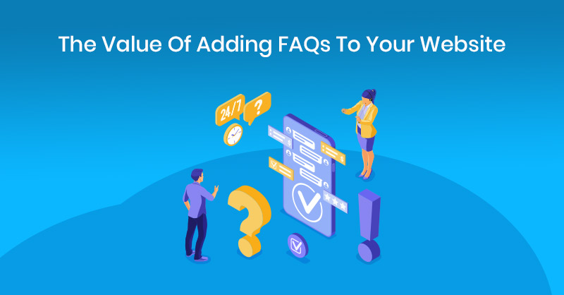 Value of adding FAQs